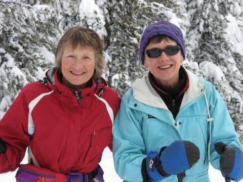 guided snowshoeing tour, british columbia